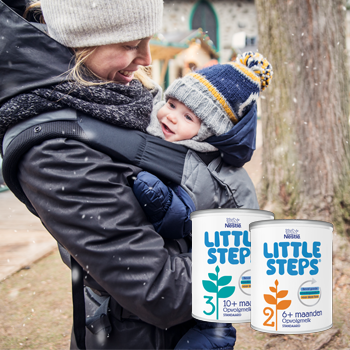 Resultaat LITTLE STEPS® opvolgmelk