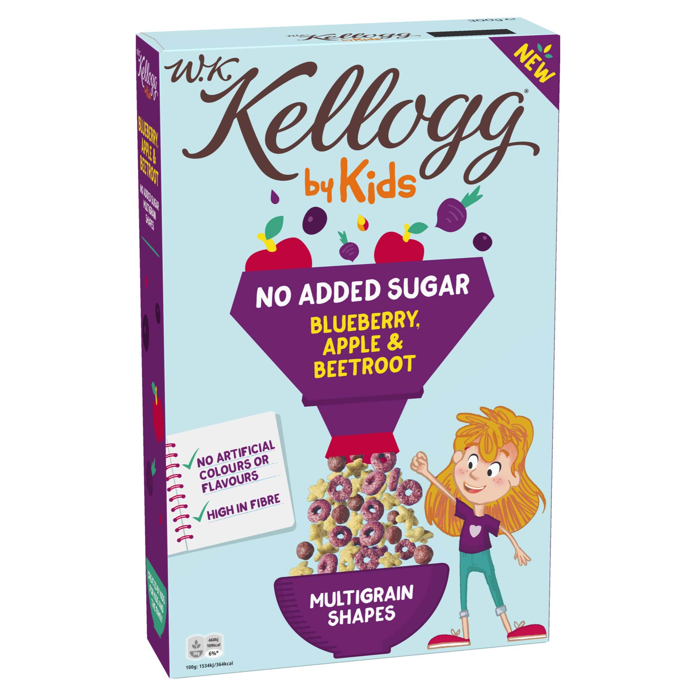 W.K Kellogg by Kids Bosbes, Appel & Rode biet