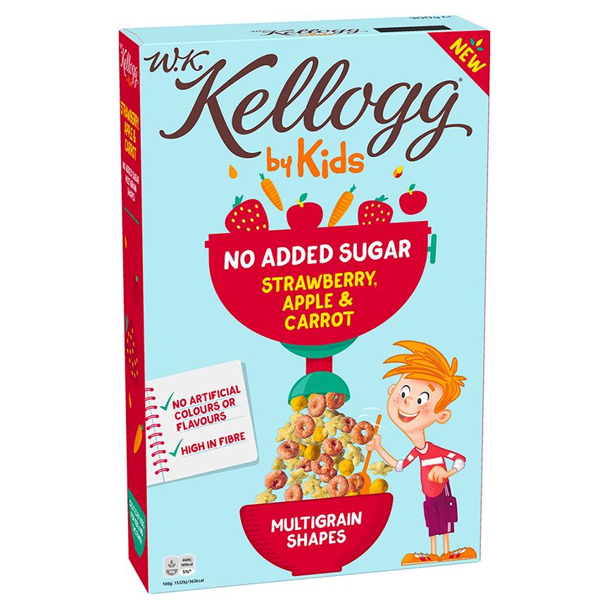 W.K Kellogg by Kids Aardbei, Appel & Wortel