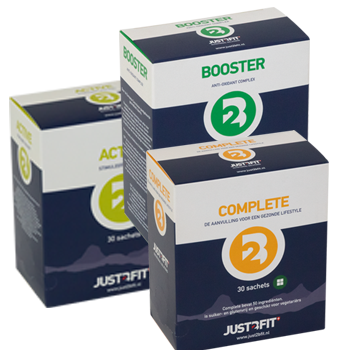 Test jij de supplementen van Just2Bfit?